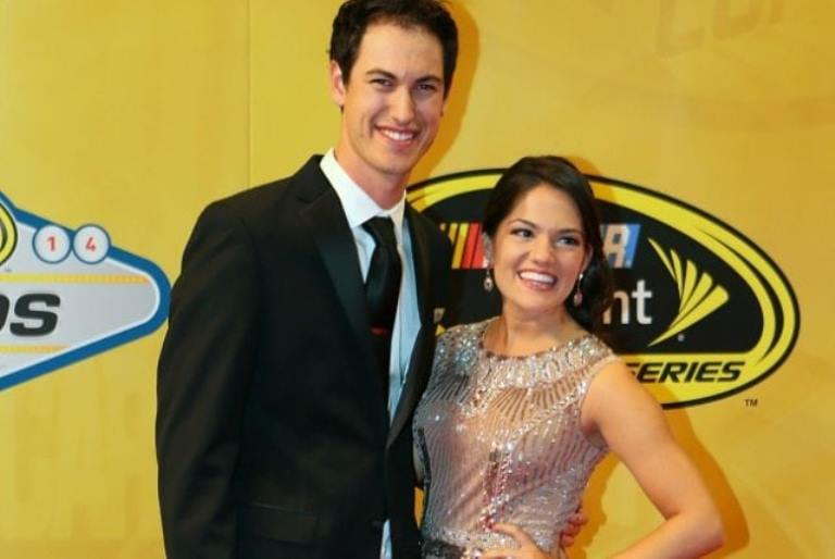 Joey Logano Wife (Brittany Baca), Why He Fought With Kyle Busch, Height