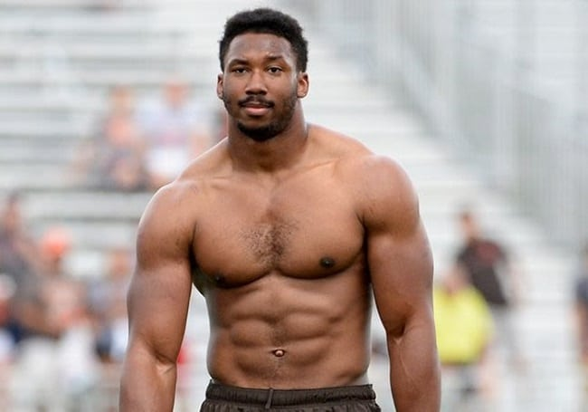 Who Is Myles Garrett? Here's Everything You Need To Know About Him